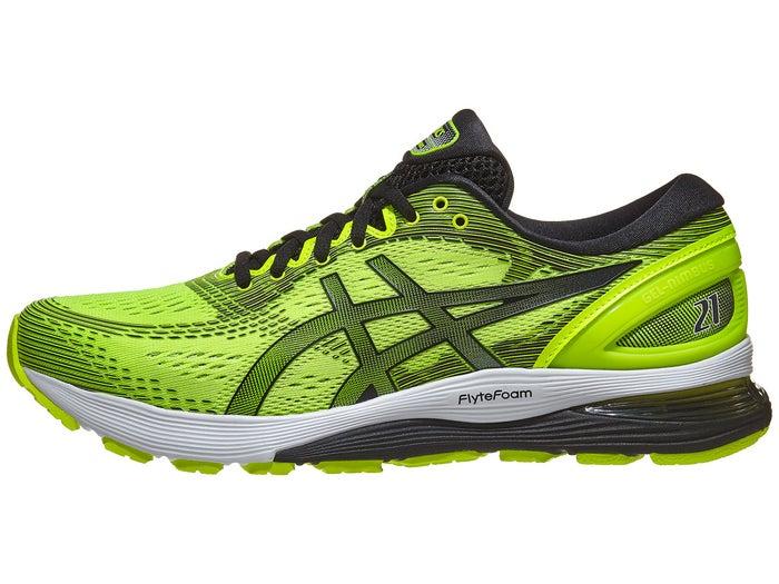 the best attitude 9ff01 30b52 ASICS Gel Nimbus 21 Men's Shoes Safety Yellow/Black - Tennis ...