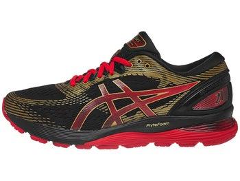 4d7891497b42 ASICS Gel Nimbus 21 Mugen Men's Shoes Black/Classic Red - Tennis Warehouse  Europe