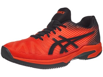 Asics Solution Speed FF Clay Red Black Men s Shoes - Tennis Warehouse Europe 415ac4ed635