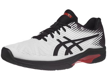 f339a8720 Zapatillas Hombre Asics Solution Speed FF Blanco/Negro/Naranja - Tennis  Warehouse Europe