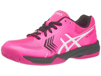 separation shoes aeda6 a3f18 Asics Gel Dedicate 5 Clay Pink Wh Bk Women s Shoes