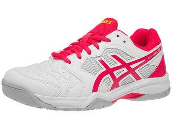 6d32e7183a Asics Gel Dedicate 6 Damen Tennisschuh Weiß/Laser Pink - Tennis Warehouse  Europe