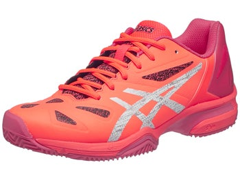 7c3b240712086 Asics Gel Lima Padel Coral Silver Red Women s Shoes - Tennis ...
