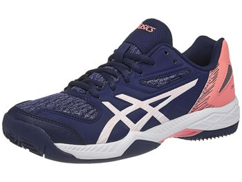 b72fa498c1 Asics Gel Padel Exclusive 5 SG Blue/Salmon Women's Shoe - Tennis ...
