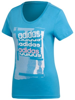 c9751b0992 adidas Women's Spring Linear T-Shirt - Tennis Warehouse Europe