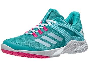 promo code e7b20 9a86a adidas adizero Club 2 Damen Tennisschuh AquaPink - Tennis Warehouse Europe