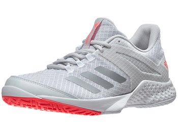 adidas adizero Club 2 White Grey Women s Shoes - Tennis Warehouse Europe c151c7292935a