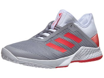 more photos 5a68a 57a29 Zapatillas Mujer adidas adizero Club 2 GrisRojo - Tennis Warehouse Europe