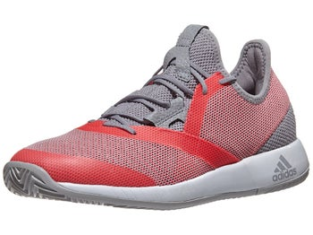 027c492e0 adidas adizero Defiant Bounce Grey Red Women s Shoes - Tennis Warehouse  Europe