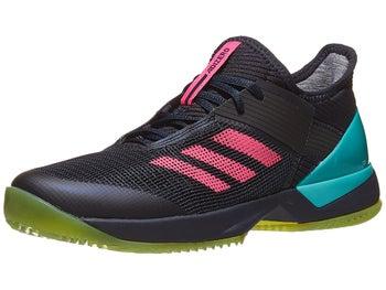 detailed look fcaae c5a5e Chaussures Femme adidas adizero Ubersonic 3 Terre Battue Ink Aqua - Tennis  Warehouse Europe
