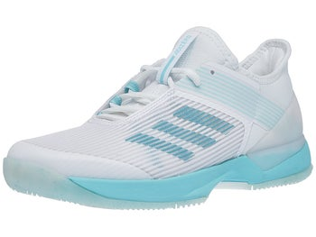 hot sale online e7ce5 88c77 adidas adizero Ubersonic 3 Parley Blue Womens Shoes - Tennis Warehouse  Europe
