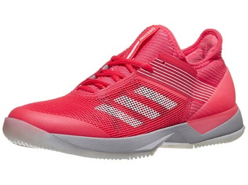 reputable site 4a2fe d3cea adidas adizero Ubersonic 3 Pink Women s Shoes