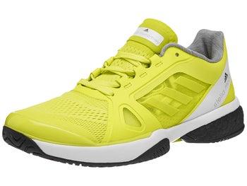 a28e6c89 adidas aSMC Barricade Boost Lime/White Women's Shoes - Tennis ...