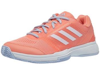 promo code 80b9c 4e5f5 Chaussures Femme adidas Barricade Club Corail Blanc - Tennis Warehouse  Europe