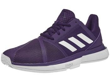 bbe276ba72740 adidas CourtJam Bounce Purple Women s Shoes - Tennis Warehouse Europe