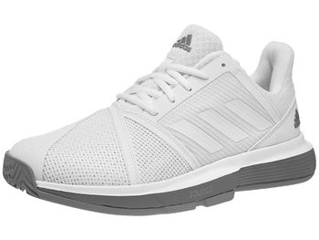new styles a564c ae7f9 Chaussures Femme adidas CourtJam Bounce BlancGris - Tennis Warehouse Europe