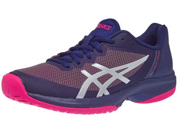 half off 244d1 5e00a Asics Gel Court Speed Navy Pink Women s Shoes