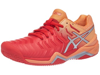 aafb9e5d6 Asics Gel Resolution 7 Clay Peach Pink Women s Shoes - Tennis Warehouse  Europe