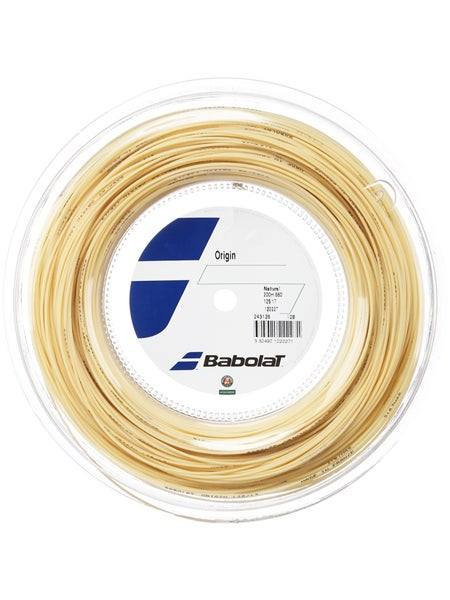 Longevity Set 1.35mm Tennis 12m Naturdarm new Natural string *NEU*Babolat Tonic