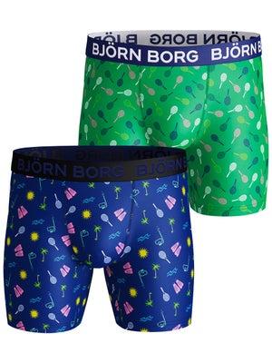 9b7c1337 Bjorn Borg Men's Summer Aloha 2-Pack Performance Short - Tennis ...