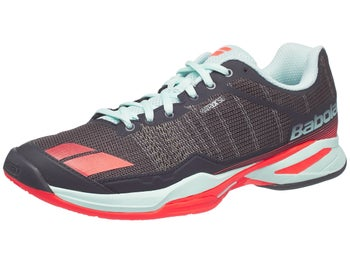 e39893713ca2 Babolat Jet Team CLAY Grey Blue Pink Women s Shoes - Tennis ...