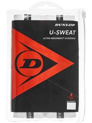 962bae398 Dunlop U-Sweat 3-Pack Overgrip - Tennis Warehouse Europe