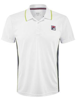2f7bb29b78570 Fila Men's Summer Filo Polo - Tennis Warehouse Europe