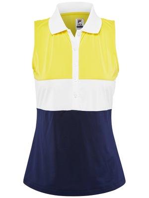 b1dcbca852f Polo Sans Manches Femme Fila Argyle - Tennis Warehouse Europe