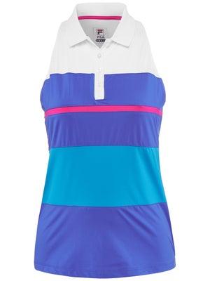c5feb8fa40f Polo Sans Manches Femme Fila Sweetspot - Tennis Warehouse Europe