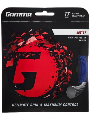 Gamma Jet 17 (1 22) String <b>Buy 3, Pay for 2!</b> - Tennis