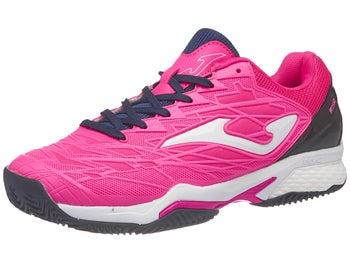 Zapatillas Mujer Joma T.Ace Pro Tierra Batida Rosa/Negro/Blanco