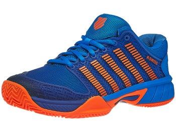 e35429d3800d8 K-Swiss Hypercourt Express Clay Blue/Orange Junior Shoe - Tennis ...