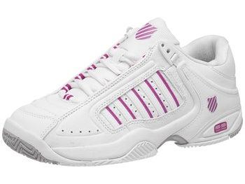 c0b373e27357 K-Swiss Defier RS White Pink Women s Shoes - Tennis Warehouse Europe