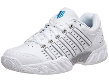 K-Swiss Big Shot Light LTR White Grey Women s Shoes - Tennis ... 42bae922109