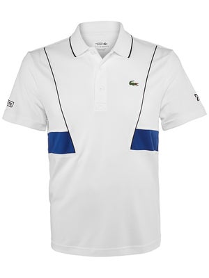 0c1c5d7999 Polo Homme Lacoste Novak Djokovic Grand Slam Printemps - Tennis Warehouse  Europe