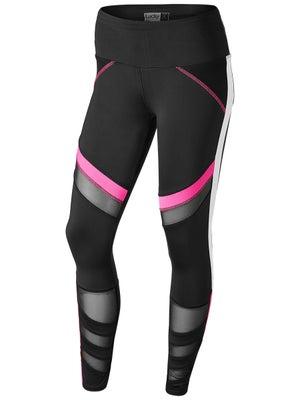 fd8737ed326223 Lucky In Love Women's Moto Mesh Legging - Tennis Warehouse Europe