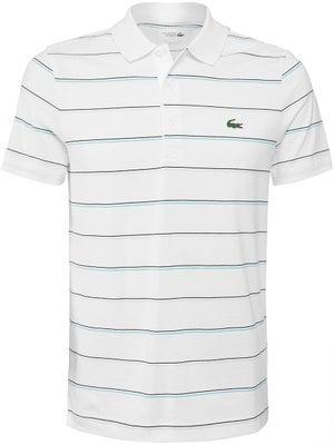 595cb72fabfc Lacoste Men s Fall Cotton Stripes Polo - Tennis Warehouse Europe