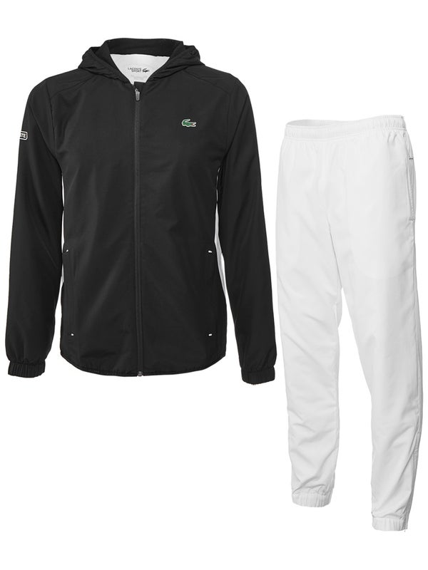 new concept 61a63 db5be Lacoste Herren Herbst Trainingsanzug mit Kapuze - Tennis ...