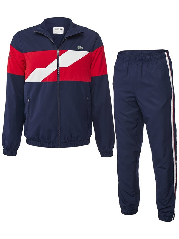 sneakers for cheap ac92b 50d17 Lacoste Men's Fall Tri-Color Tracksuit - Tennis Warehouse Europe