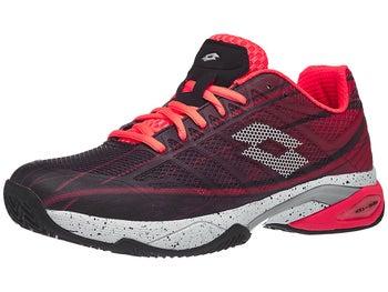 d244f4317d61 Lotto Mirage 300 Clay Coral/White/Black Men's Shoes - Tennis ...