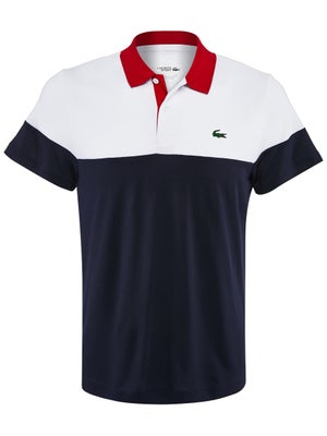 5055511fd0 Lacoste Men's Spring Colorblock Polo - Tennis Warehouse Europe