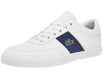 24f5d1a0214 Lacoste Court Master 318 White Navy Men s Shoes - Tennis Warehouse Europe
