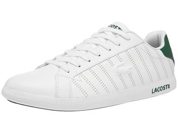 bcf4c6350791 Lacoste Graduate 318 White Green Men s Shoes - Tennis Warehouse Europe