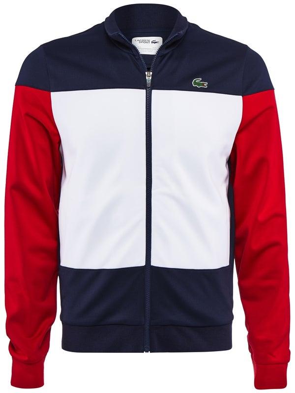 juste prix nouveaux produits chauds bon service Veste Homme Lacoste Tricolor Printemps - Tennis Warehouse Europe