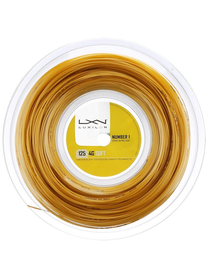 Luxilon 4G 16L 1.25mm Tennis Strings 200M Reel