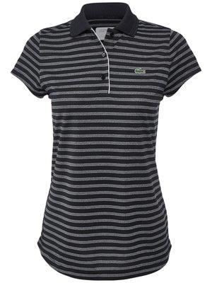 02abb5e0881 Lacoste Women s Fall Stripes Polo - Tennis Warehouse Europe