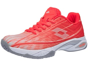 0f12ad0983f0 Lotto Mirage 300 SPD Coral/White Women's Shoes - Tennis Warehouse Europe