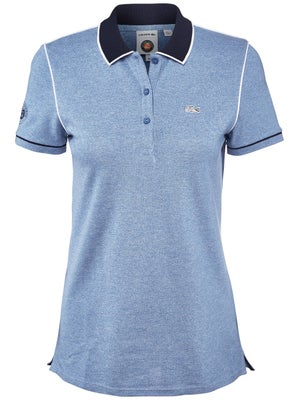 9b9f94d158a Lacoste Women s Roland Garros Heathered Polo - Tennis Warehouse Europe