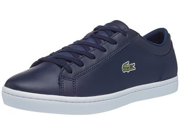 9d85bc188 Lacoste Straightset BL Navy Women s Shoes - Tennis Warehouse Europe