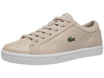 69d08195d4 Chaussures Femme Lacoste Straightset Lace Rose - Tennis Warehouse Europe
